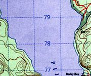 raster maps are scans of the<br /> original topo maps - digital images that are identical to the originals